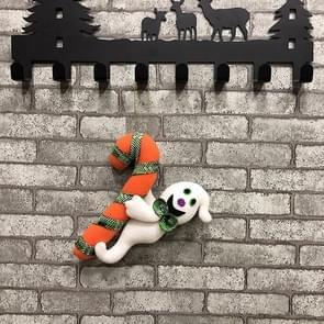 CX189008 Halloween creatieve hangende poppen geschenken pluche hanger decoratieve rekwisieten (Ghost)