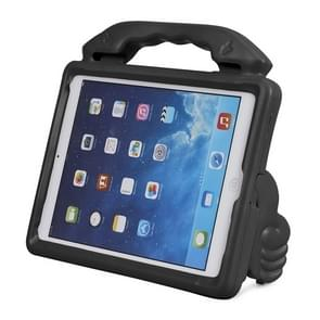 Shockproof EVA Thumb Bumper Case with Handle & Holder for iPad 9.7(Black)