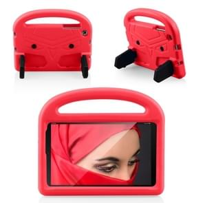 Shockproof EVA Bumper Case with Handle & Holder for Galaxy Tab A 8 (2019) P200 / P205(Red)
