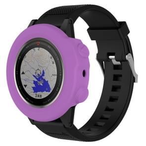 Smart Watch silicone beschermhoes  host niet meegeleverd voor Garmin fenix 5X (paars)