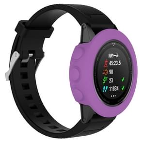 Smart Watch Silicone Protective Case, Host not Included for Garmin Fenix 5(Purple)
