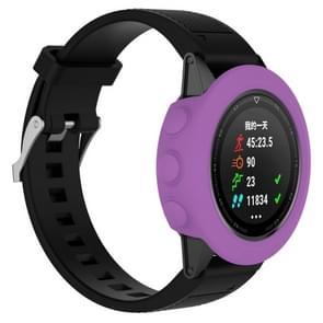 Smart Watch silicone beschermhoes  host niet meegeleverd voor Garmin fenix 5 (paars)