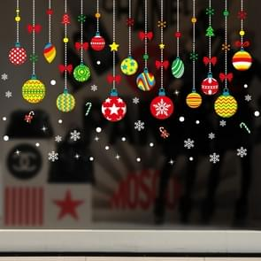 Window Glass Door Removable Christmas Festival Wall Sticker Decoration(6258)