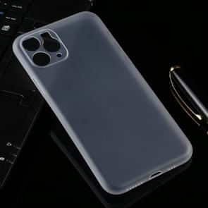 Ultradunne Frosted PP Case voor iPhone XI Max 2019 (transparant)