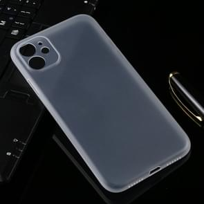 Ultradunne matte PP Case voor iPhone XIR 2019 (transparant)