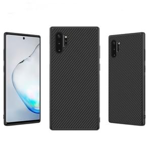 NILLKIN Synthetic Fiber Anti-slip Protective Back Cover Case for Galaxy Note 10+ / Note 10+ 5G