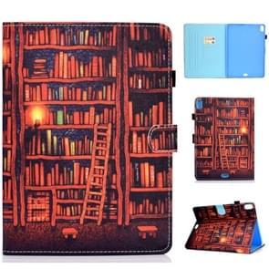For iPad Pro 10.5 2017 / 2019 Colored Drawing Stitching Horizontal Flip Leather Case, with Holder & Card Slots & Sleep / Wake-up function(Bookshelf)