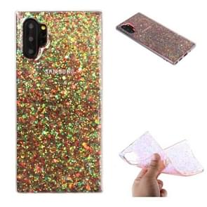 For Galaxy Note 10 Pro Glitter Powder Soft TPU Protective Case(Colour)