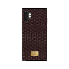 For Galaxy Note 10 RAIGOR INVERSE PARKER Geometric Texture Pattern Protective Case(Red)