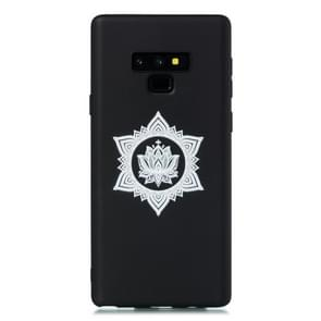 For Galaxy Note9 Shockproof Soft TPU Protective Case(Hexagram Flower Pattern)