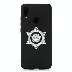 For Xiaomi Redmi Note 7 Pro / Redmi Note 7 Shockproof Soft TPU Protective Case(Hexagram Flower Pattern)