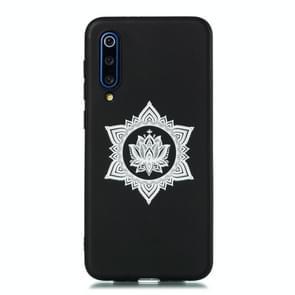For Xiaomi Mi 9 Shockproof Soft TPU Protective Case(Hexagram Flower Pattern)