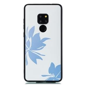 For Huawei Mate 20 Shockproof Soft TPU Protective Case(Sun Flower Pattern)