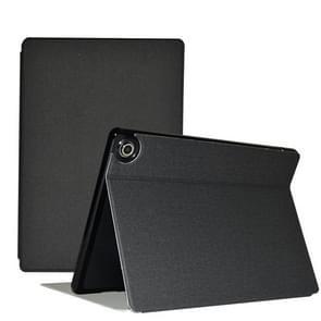 Voor Teclast M18 Business Style horizontale flip pu lederen beschermhoes met houder(zwart)