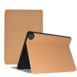 Voor Teclast M18 Business Style horizontale flip pu lederen beschermhoes met houder(goud)