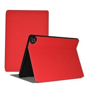 Voor Teclast M18 Business Style horizontale flip pu lederen beschermhoes met houder(rood)