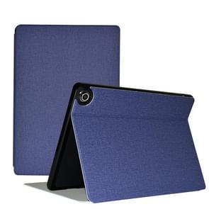 Voor Teclast M18 Business Style horizontale flip pu lederen beschermhoes met houder(blauw)