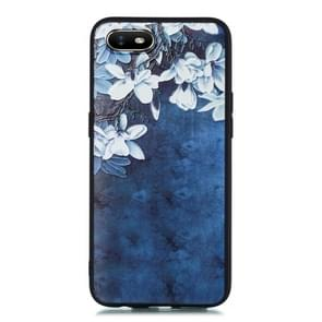 For OPPO A1k Shockproof Soft TPU Protective Case(Magnolia Pattern)