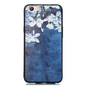 For OPPO A59 Shockproof Soft TPU Protective Case(Magnolia Pattern)