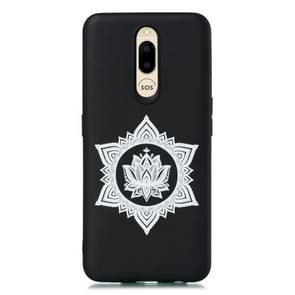 For OPPO F11 Shockproof Soft TPU Protective Case(Hexagram Flower Pattern)