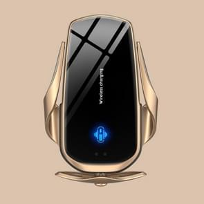 F3 Auto Elektrische Infrarood Sensor Draadloze OpladerBeugel (Goud)