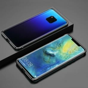 Voor Huawei Mate 20 Pro Schokbestendig Ultra-dun metalen beschermframe(Zwart)