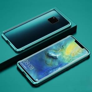 Voor Huawei Mate 20 Pro Schokbestendig Ultra-dun metalen beschermframe(groen)