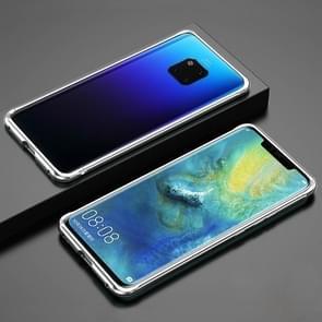 Voor Huawei Mate 20 Pro Schokbestendig Ultra-dun metalen beschermframe (zilver)