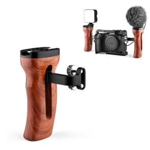 YELANGU A72 Universele camera houten handvat