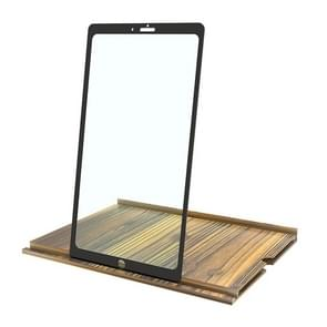 12 Inch Log HD Mobile Phone Screen Amplifier (Golden Wood Grain)