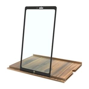 12 Inch Log HD Mobile Phone Screen Amplifier (Coffee Wood Grain)