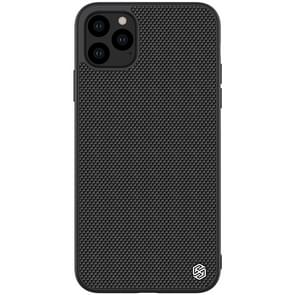For iPhone 11 Pro Max NILLKIN Nylon Fiber PC+TPU Protective Case(Black)