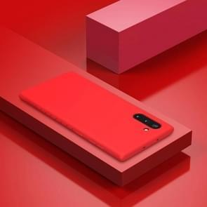 Voor Galaxy Note 10 NILLKIN rubber verpakt TPU beschermhoes (rood)