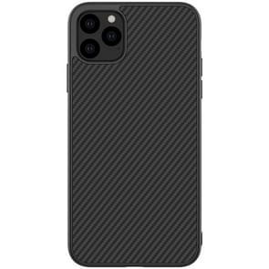 Voor iPhone 11 Pro Max NILLKIN anti-slip textuur PC beschermhoes (zwart)