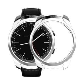 Voor Tic Watch Pro smart horloge TPU beschermhoes (zilver)