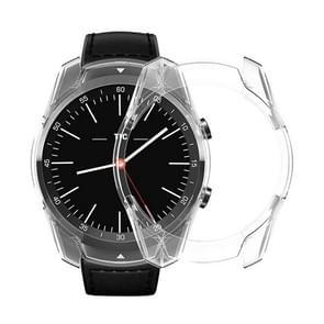 Voor Tic Watch Pro smart horloge TPU beschermhoes (transparant)