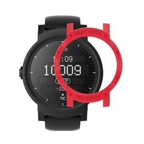 For Tic Watch E PC Protective Case(Red)