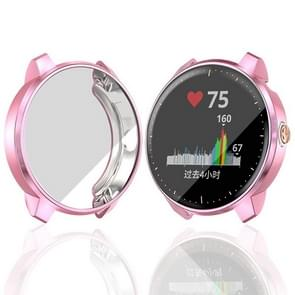 For Garmin Vivoactive 3 Music Version TPU Protective Case(Pink)