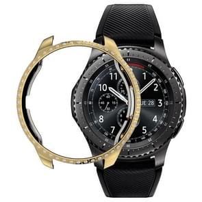 For Samsung Watch 42mm PC Diamond Watch Case(Gold)