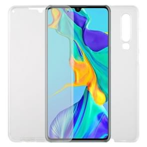 For Huawei P30 TPU + Acrylic Ultra-Thin Double-Sided All-Inclusive Transparent Mobile Phone Case