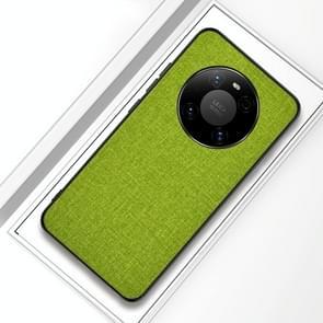 Voor Huawei Mate 40 Schokbestendige Doek Texture PC + TPU beschermhoes (Gree)
