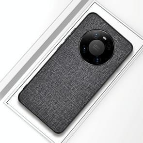 Voor Huawei Mate 40 Pro Schokvrije doektextuur PC + TPU-beschermhoes (Zilveras)