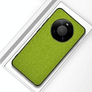 Voor Huawei Mate 40 Pro Schokbestendige doektextuur PC + TPU-beschermhoes (Gree)