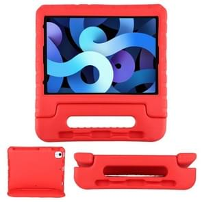 EVA Bumper Beschermhoes met Handle & Houder & Pen Slot Voor iPad Air 2020 10.9(Rood)