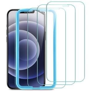 3 PCS ESR Screen Shield Serie 9H Volledige dekking Explosie-proof Tempered Glass Film Voor iPhone 12 Pro Max