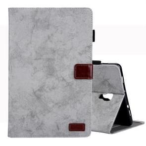 Voor Galaxy tab A 10 5/T590 Business Style horizontale Flip lederen draagtas  met houder & kaartsleuf & fotolijstjes & slaap/Wake-up functie (grijs)
