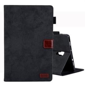 Voor Galaxy tab A 10 5/T590 Business Style horizontale Flip lederen draagtas  met houder & kaartsleuf & fotolijstjes & slaap/Wake-up functie (zwart)