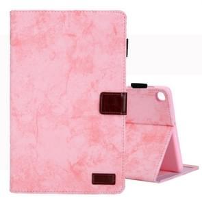 Voor Galaxy tab S5e/T720 Business stijl horizontale Flip lederen draagtas  met houder & kaartsleuf & fotolijstjes & slaap/Wake-up functie (roze)