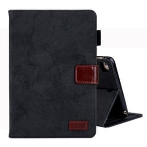 Voor iPad Mini 1/2/3/4 Business stijl horizontale Flip lederen draagtas  met houder & kaartsleuf & fotolijstjes & slaap/Wake-up functie (zwart)
