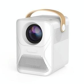 X6 1080P 4000 Lumens Mini Household Office Smart Digital Projector  Basisversie(Wit)